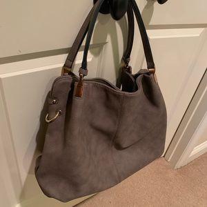 Lulus Ocean Cruise Taupe Vegan Handbag